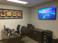 TV Wall Mounting Experts. Low prices. 416-700-6001