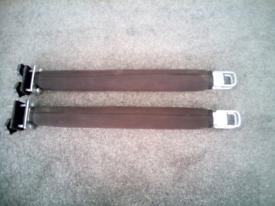 Kayak roof rack bars.