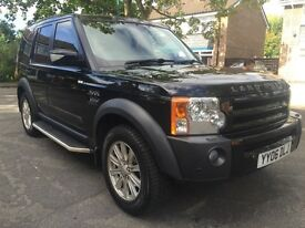 2006 LAND ROVER DISCOVERY 3 HSE 2.7 DIESEL - TIMING BELTS DONE & GEARBOX RECONDITIONED