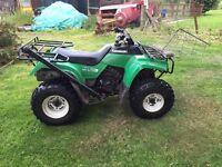 Kawasaki quad LF220