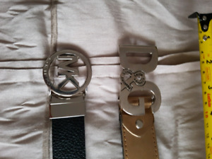 MK and D&G Belts