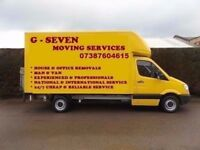 FROM £20p/h HOUSE OFFICE WAREHOUSE REMOVAL SERVICE MAN AND VAN SINGLE ITEM