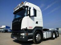 SCANIA R520 V8 *Eu-6* HIGHLINE TAG AXLE 6x2 TRACTOR UNIT 2015 for sale  Coalville, Leicestershire