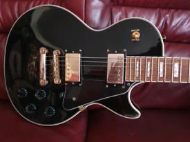Tokai Les Paul Custom BB Black guitar