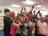 Boxing team for kids (ages 5-13)