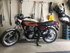 Moto antique Honda CB750 SuperSport 1978
