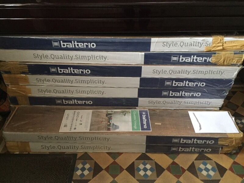 Balterio 8mm Quattro Vintage Sherlock Oak Laminate Flooring