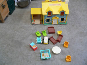 belle petite maison vintage fisher price # 5471