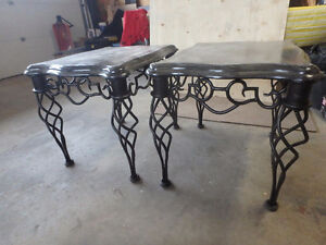 Great set of end tables open to offers