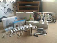 Nintendo Wii fitness bundle with loads of extras