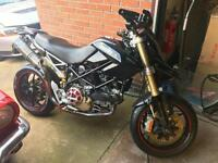 Modified Ducati Hypermotard 1100 EVO 3,600 Miles £3900 Spent one off unique