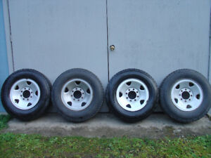 2005-10 FORD F250/350 17 INCH STEEL RIMS.