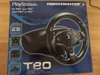 PS3 and PS4 racing wheel