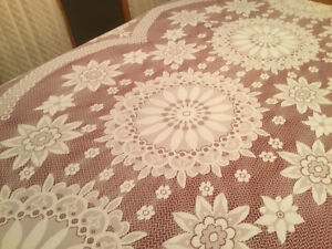 Lace tablecloths- 2  items to pick from for Thanksgiving  table
