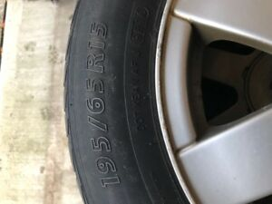 195/65r15 Winter tires with volkswagon rims