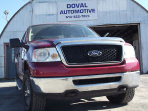 Safetied 2007 F150 4X4, SuperCab- Fully loaded. 613-822-7826