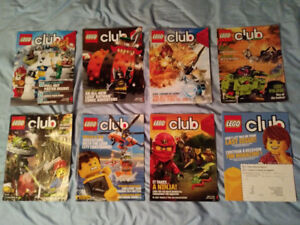 VINTAGE COMIC BOOKS - LEGO MAGAZINES CHIMA-BIONICLE-SUPER HEROES