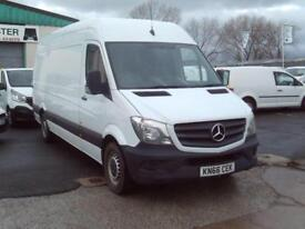 Mercedes-Benz Sprinter 314CDI LWB HIGH ROOF 140PS DIESEL MANUAL WHITE (2016)