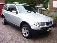 BMW X3 2.5i 2005MY SE new mot drives well call 07790524049