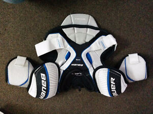 Bauer chest pads -- supreme one55
