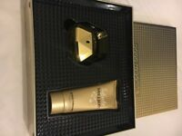 Lady million 50ml gift set brand new