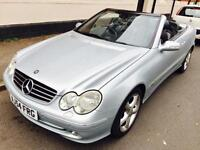MERCEDES CLK320 AUTO CONVERTIBLE >24hr REDUCED PRICE OFFER<HISTORY..DRIVES GREAT