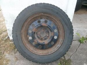 Winter Tires with 4 bolt Rims for Sale