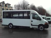 RENAULT MASTER AUTOMATIC 15 SEAT LOW FLOOR STEP ENRTY WELFARE BUS COIF PSV