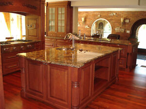 EnjoyHome Granite/Quartz Kitchen Counter top For Sale Cambridge Kitchener Area image 5
