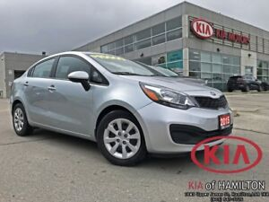 2015 Kia Rio LX+ | Extremely Low KM | Looks New
