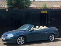 * 2007 SAAB 9-3 1.9 D VECTOR CONVERTIBLE DIESEL AUTOMATIC + ALLOYS + F/S/H *