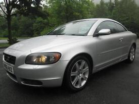 06/06 VOLVO C70 2.4 SPORT CONVERTIBLE / COUPE IN MET SILVER