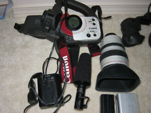cannon camcorder gl-1