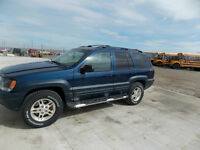 2001 Jeep Grand Cherokee Limited (price negotiable)