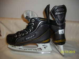 Boys/Youth Skates Size 13 (Bauer Supreme One100)