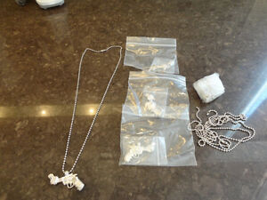 4 Brand New Pewter Twisted Barrel Pistol Necklaces -$4.00 each Kitchener / Waterloo Kitchener Area image 3