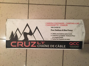 QCC CRUZ LT Cable Chains (Never Used)