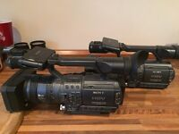 2 Sony HD FX-1E camera bundle! Complete Package!