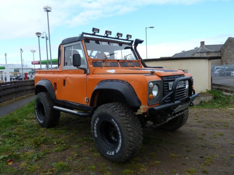 1990 H Land Rover Defender 90 Pick Up 2 5 Td In Elgin