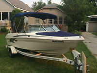2001 Sea Ray Bowrider 180 - 130HP  For Sale - 455 hours