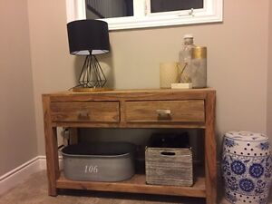 Solid wood buffet/table