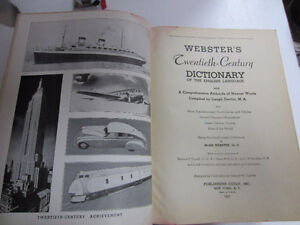 Webster's Dictionary, 1937, 20th Century Unabridged West Island Greater Montréal image 6