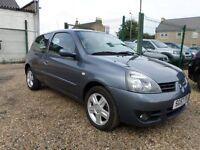 Renault Clio 1.2 16V 75 CAMPUS SPORT (blue) 2007