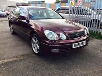 LEXUS GS 300 3.0 SE, AUTOMATIC/LEATHER, 12 MONTHS MOT