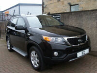 10 60 KIA SORENTO 2.2CRDi DIESEL AUTO 7 SEATER 5DR NEW SHAPE LOW MILEAGE LOW TAX