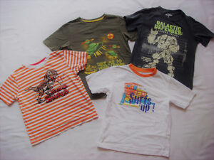 BOY 6 CLOTHES FROM GYMBOREE, H&M, BABY GAP, OLD NAVY, THE CHILD.