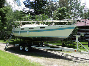 Tanzer 7.5 Shoal Draft with Self Launching Trailer
