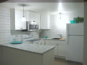 BRIGHT, Newly RENOVATED 2 Bedroom BASEMENT - Utilities Included!