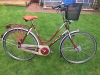 Ladies bike vintage Dutch gazelle