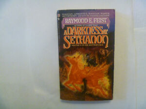RAYMOND E. FEIST - A Darkness At Sethanon - 1987 Paperback